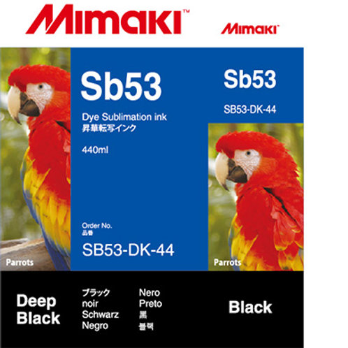 Sb53 Dye sublimation ink cartridge Deep Black