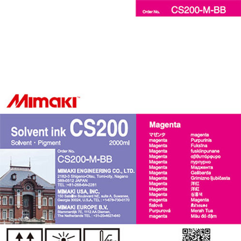 CS200 Solvent ink bottle Magenta