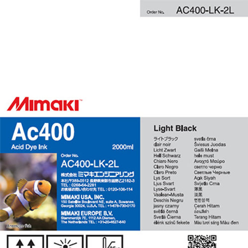 Ac400 Acid dye ink pack Light Black