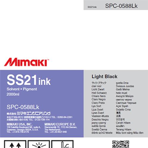 SS21 Solvent ink pack Light Black