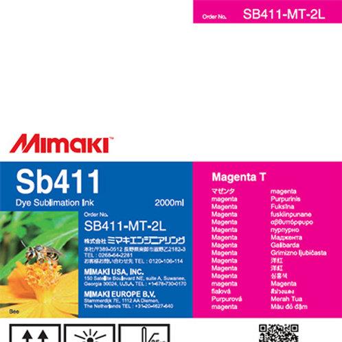 Sb411 Dye sublimation ink pack Magenta T