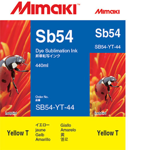 Sb54 Dye sublimation ink cartridge Yellow T