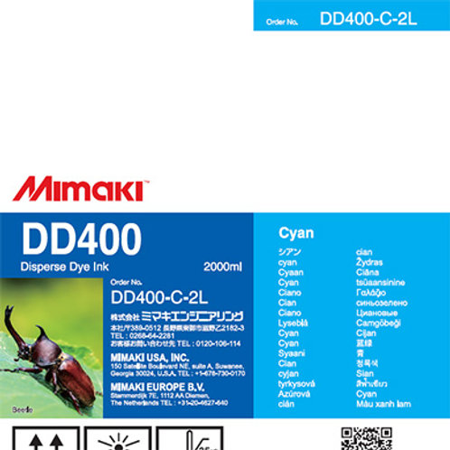 DD400 Disperse dye ink pack Cyan