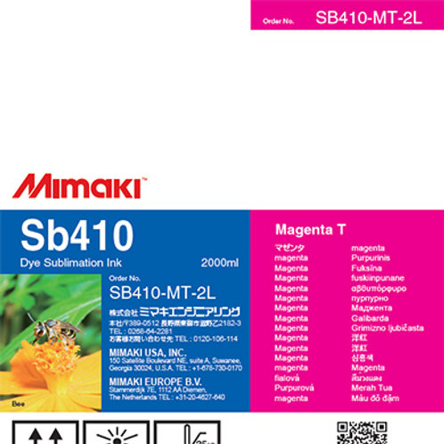 Sb410 Dye sublimation ink pack Magenta T