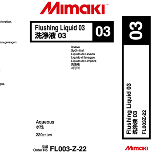 Flushing Liquid 03 Cartridge