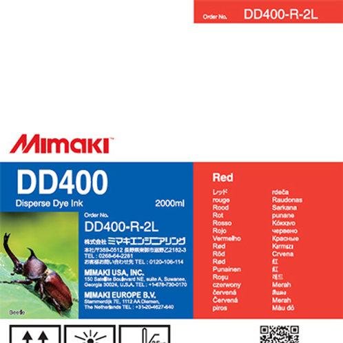 DD400 Disperse dye ink pack Red