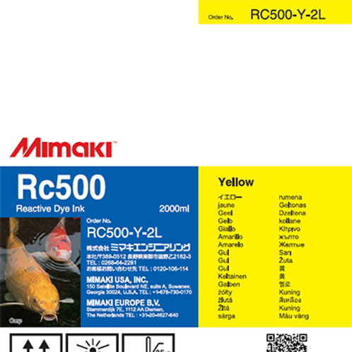 Rc500 Reactive dye ink pack Yellow