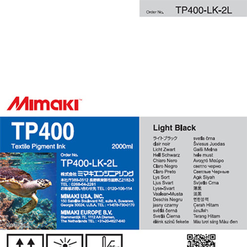 TP400 Textile pigment ink pack Light Black
