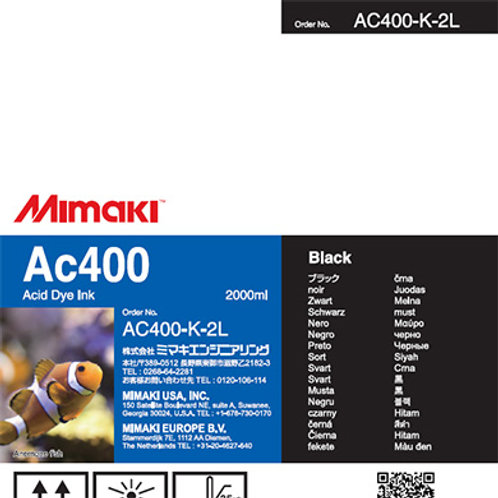 Ac400 Acid dye ink pack Black