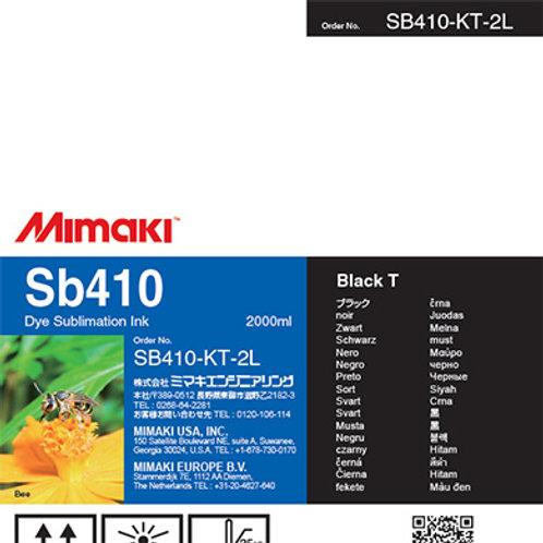Sb410 Dye sublimation ink pack Black T