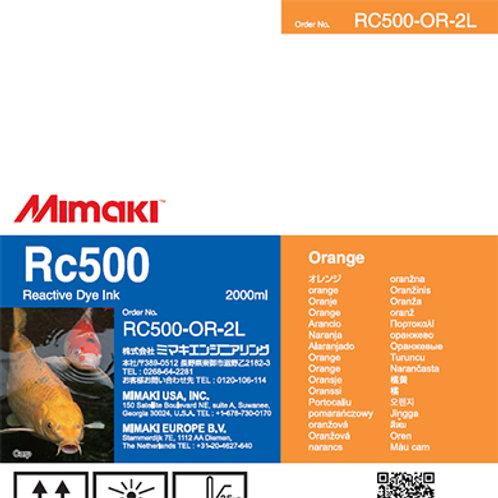 Rc500 Reactive dye ink pack Orange