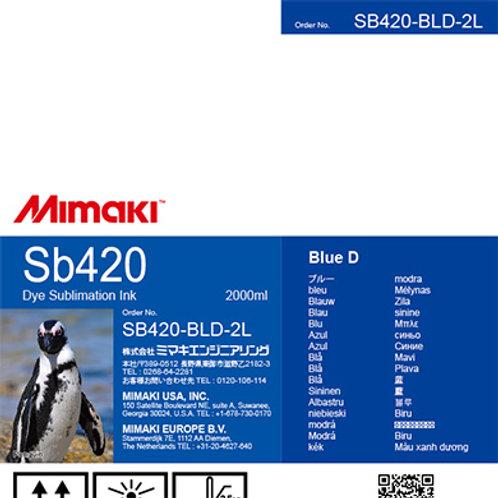 Sb420 Dye sublimation ink pack Blue D
