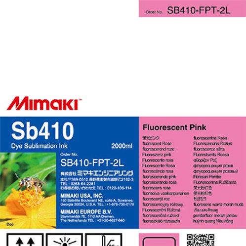 Sb410 Dye sublimation ink pack Fluorescent Pink T