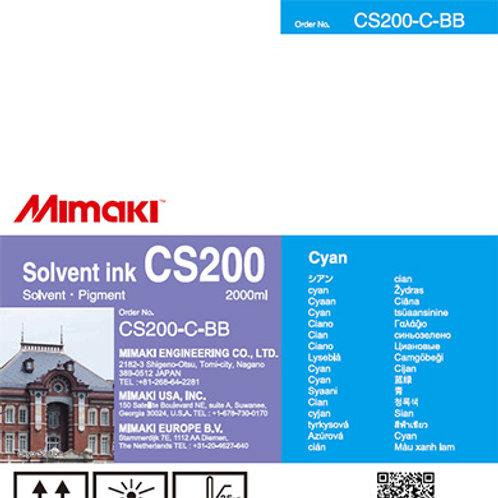 CS200 Solvent ink bottle Cyan