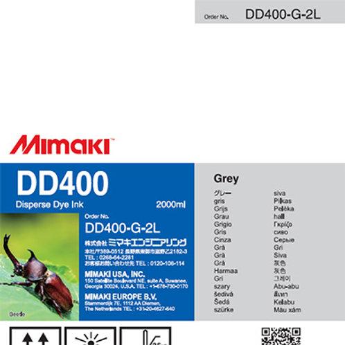 DD400 Disperse dye ink pack Gray