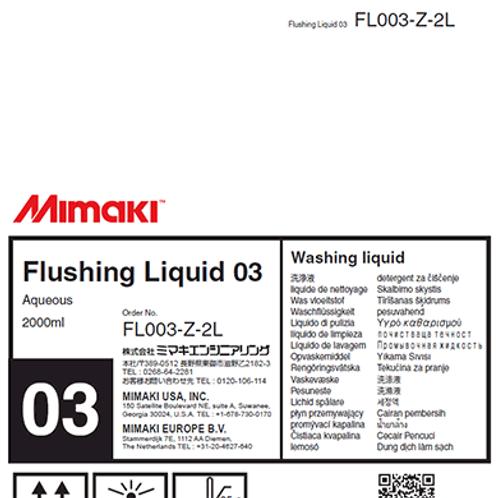 Flushing Liquid 03 2L Pack