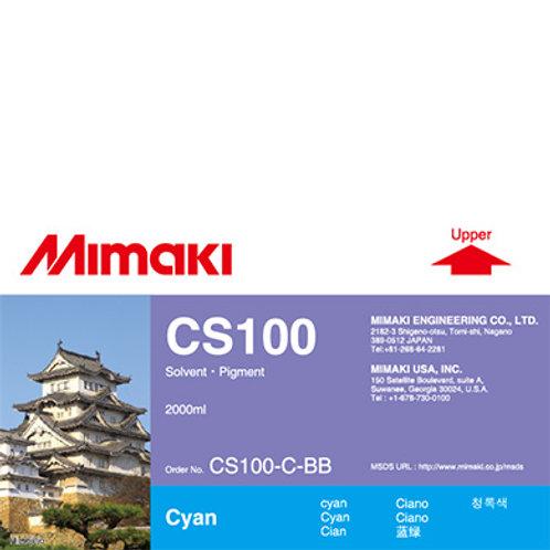 CS100 Solvent ink bottle Cyan