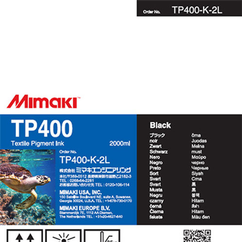 TP400 Textile pigment ink pack Black