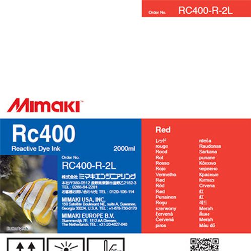 Rc400 Reactive dye ink pack Red