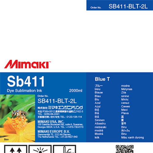 Sb411 Dye sublimation ink pack Blue T