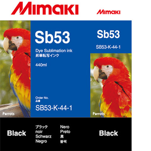 Sb53 Dye sublimation ink cartridge Black
