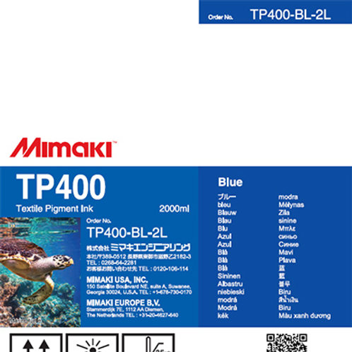 TP400 Textile pigment ink pack Blue