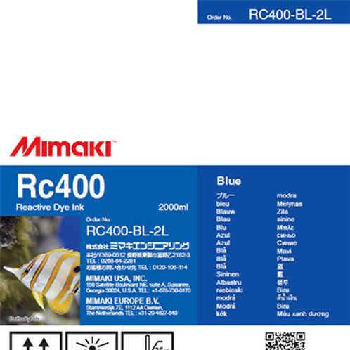 Rc400 Reactive dye ink pack Blue