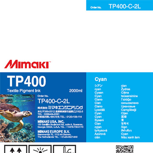 TP400 Textile pigment ink pack Cyan