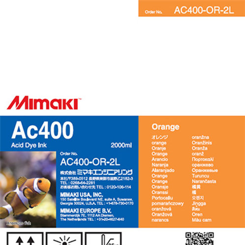 Ac400 Acid dye ink pack Orange