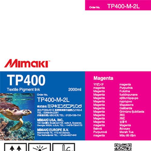 TP400 Textile pigment ink pack Magenta