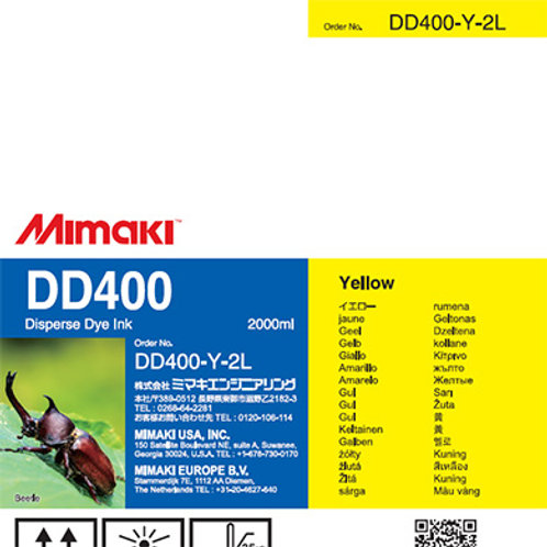 DD400 Disperse dye ink pack Yellow