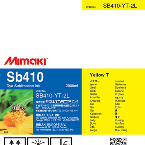 Sb410 Dye sublimation ink pack Yellow T