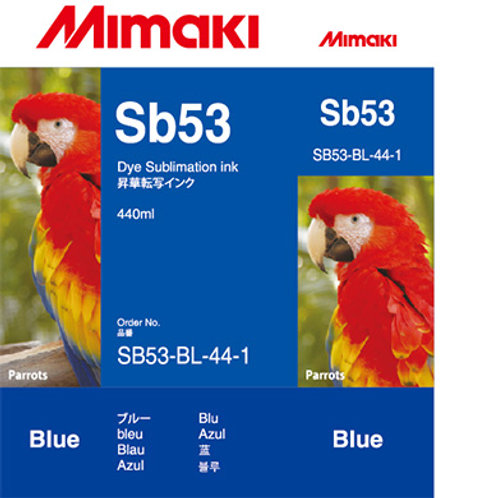 Sb53 Dye sublimation ink cartridge Blue