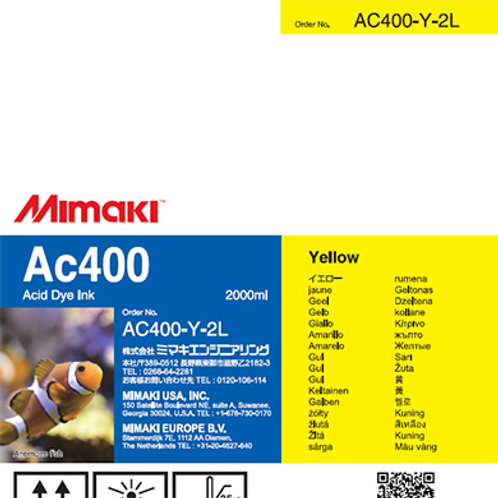 Ac400 Acid dye ink pack Yellow