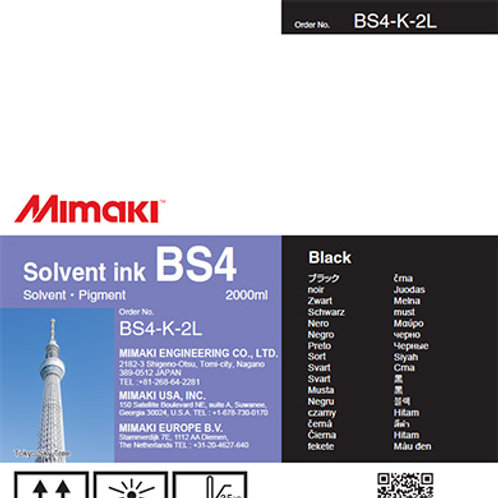 BS4 Solvent ink pack Black