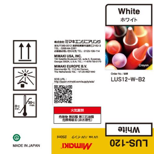 LUS-120 UV curable ink 250ml bottle White