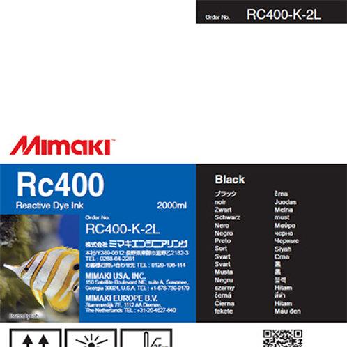 Rc400 Reactive dye ink pack Black