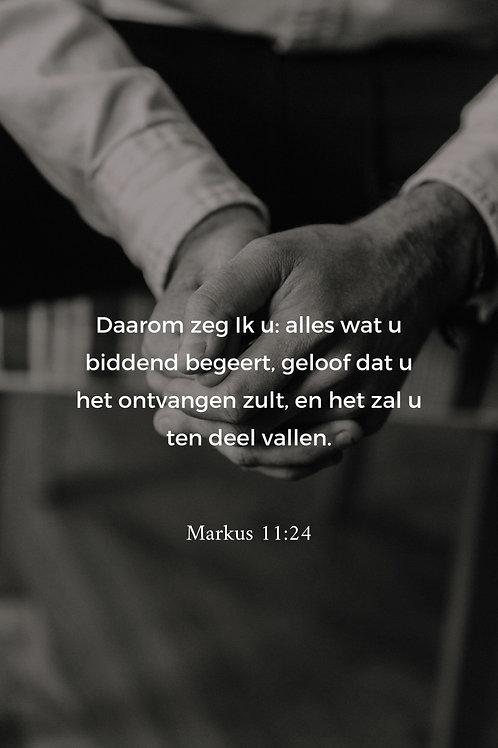 Kaart Markus 11:24