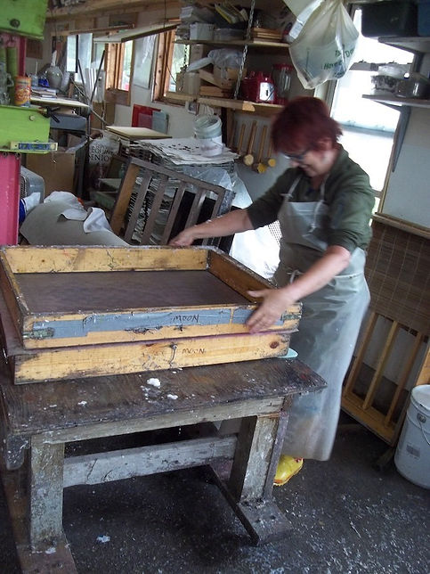 dorothy making paper.jpg