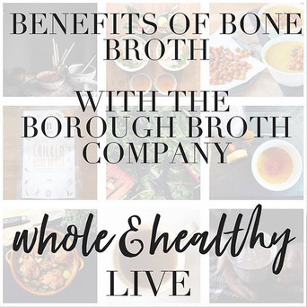 Ros and Kezia Hall chat all things broth and health and life and that...