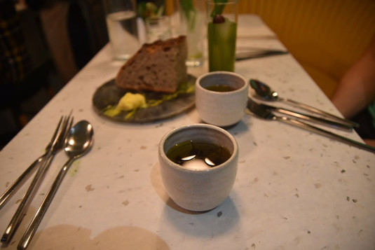 Restaurant review of CUB who exclusively serves our organic broth as part of their sustainable menu!