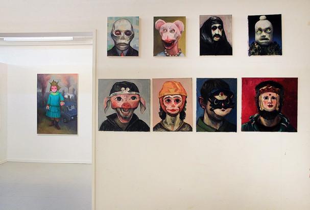 BERLIN EXTRAVAGANZA in Brussels Painting
