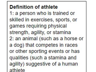 Equestrians = Athletes