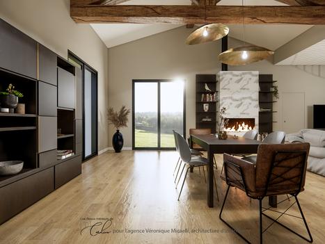 Février 2021 - Maison en construction en Corse