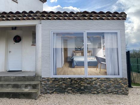 Janvier 2021 - Extension d'une maison à Marseille