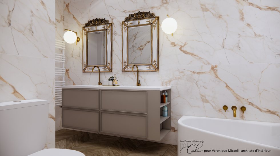 La salle de bain, deuxième proposition
