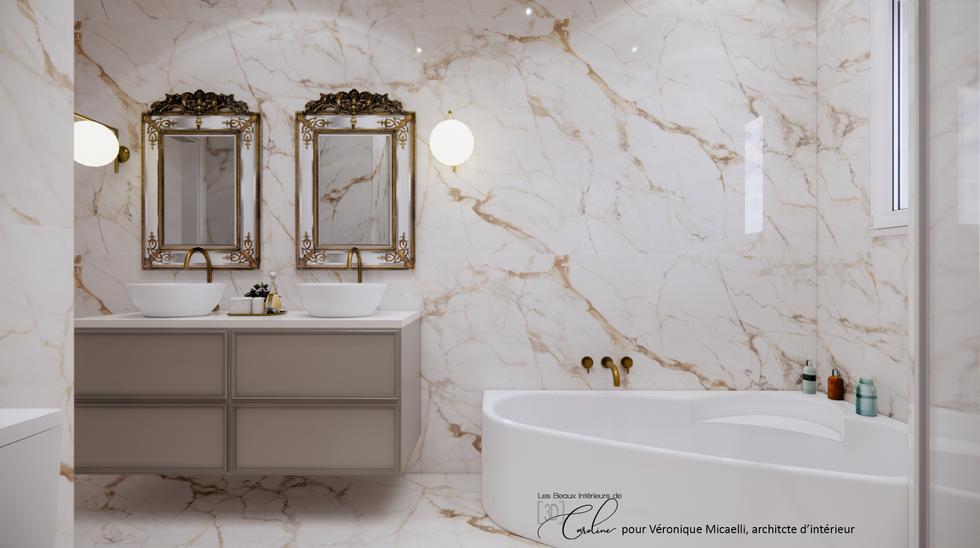 La salle de bain, première proposition