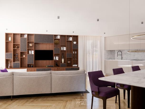 Mai 2020 - Aménagement 3D d'un appartement de luxe