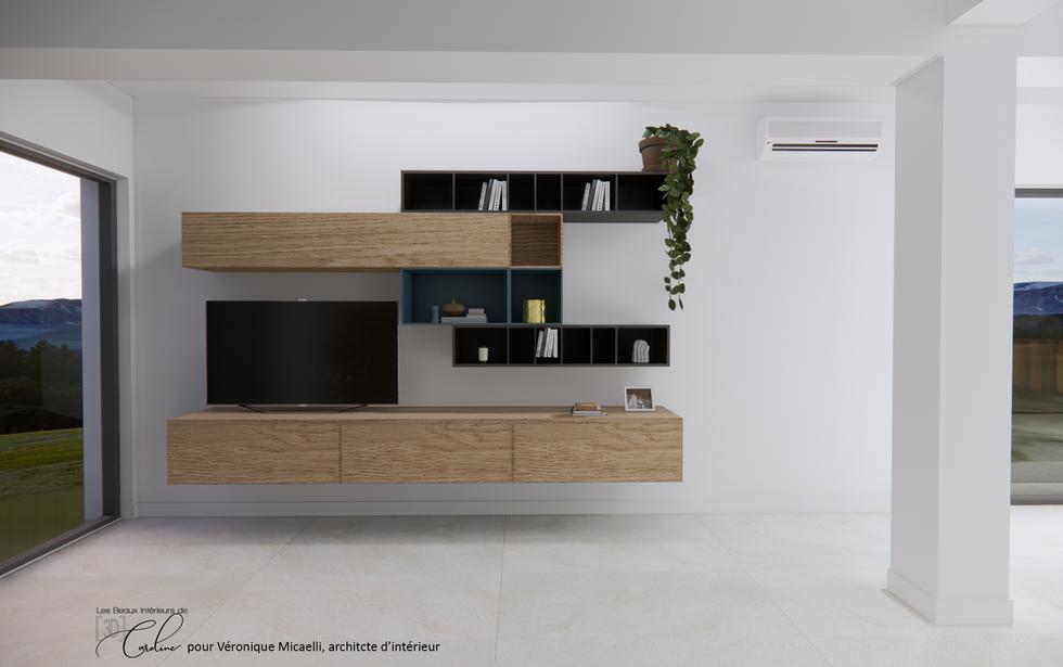 Deuxième proposition du meuble télé