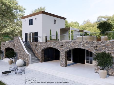 Avril 2021 - Rénovation de l'extérieur d'une maison en Corse